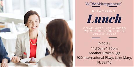 WOMANtrepreneur - Networking Event - Orlando tickets