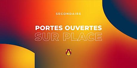 Académie Saint-Louis Secondaire | Portes ouvertes sur place! billets