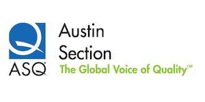 ASQ Austin September Meeting