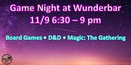 SoVTYPs: Game Night at Wunderbar tickets