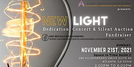 New Light Dedication Concert & Silent Auction tickets