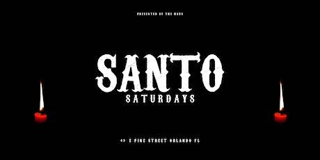 SANTO SATURDAYS tickets