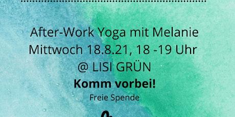 Yoga mit Melanie Tickets