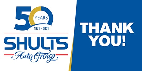 Shults Auto Group 50th Anniversary tickets