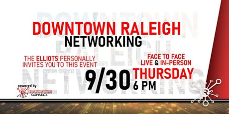 Free Downtown Raleigh Rockstar Connect Networking Event (September) tickets