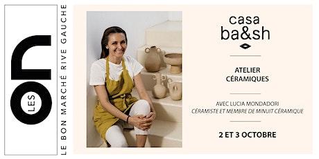 Les ON: Atelier Céramiques avec ba&sh billets