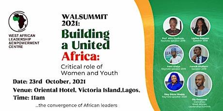 West African Leadership Summit 2021 tickets