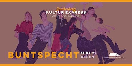 Buntspecht • Regen • Zauberberg Kultur Express Tickets