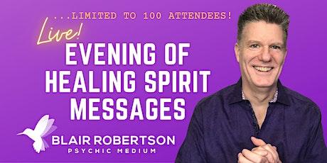 Blair Robertson Evening Of Spirit Messages tickets