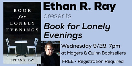 Ethan Ray presents Book for Lonely Evenings tickets