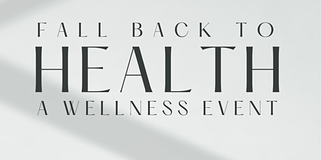 Fall Back to Health tickets