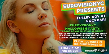 EurovisioNYC Halloween Costume Party feat. Lesley Roy! tickets