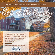Best of the Byway Fall Bus Tour -  Delaware Crossing Scenic Byway tickets