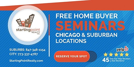 Free Home Buyer Seminar: Terry -Starbucks - 395 S. Barrington  - Schaumburg tickets