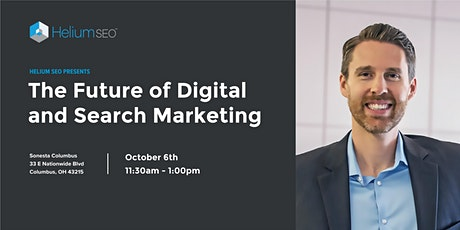 The Future of Digital and Search Marketing - Lunch and Learn tickets