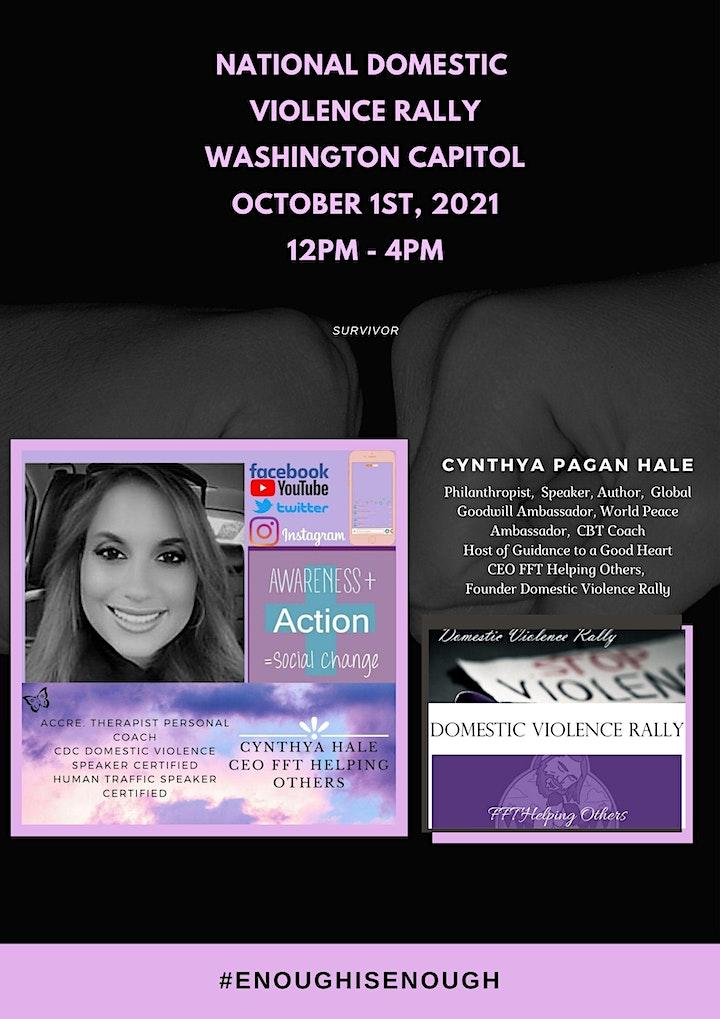National Domestic Violence Rally image