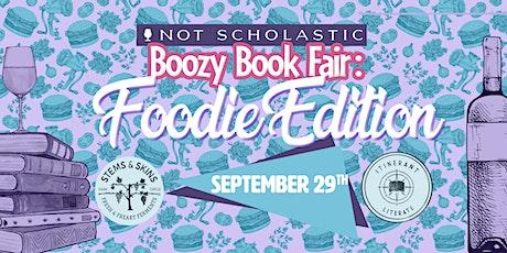 Boozy Book Fair: Foodie Edition tickets