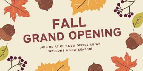 FALL GRAND OPENING tickets