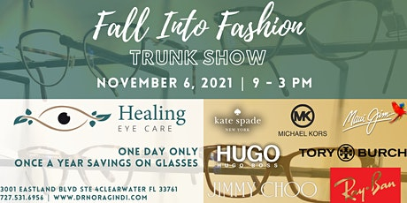 Healing Eye Care presents our 2021 Fall into Fashion Eyeglass Sale tickets