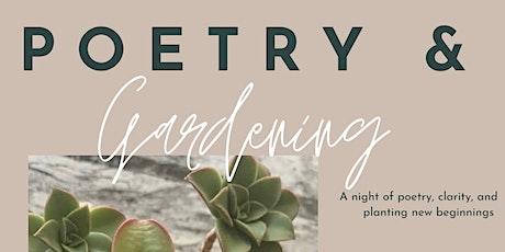 Poetry & Gardening tickets