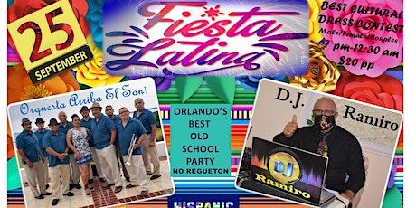 Hispanic Heritage Dance  -FIESTA LATINA - Baile Latino - Dance Part Orlando tickets