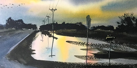 Painting Reflections in Watercolor with Paul Oman tickets