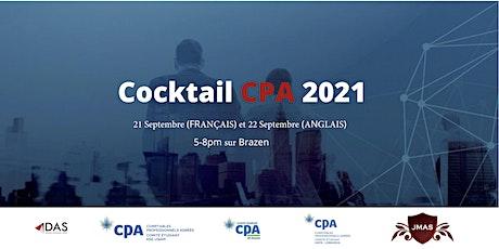 Cocktail CPA 2021 & Cocktail des Ambassadeurs billets