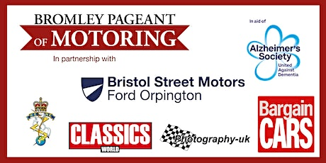 Bromley Pageant of Motoring - One Make Parking, Special Display, For Sale tickets