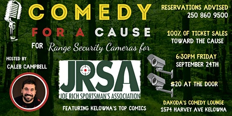 Comedy for a Cause for the JRSA tickets