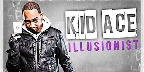 Kid Ace Illustionist at Hudson Yards tickets