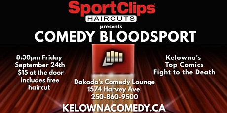 Sport Clips presents Comedy Bloodsport tickets