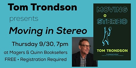 Tom Trondson presents Moving in Stereo tickets