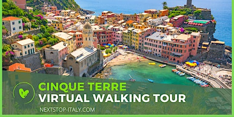 CINQUE TERRE VIRTUAL WALKING TOUR - Vernazza, the Bay of Lovers tickets
