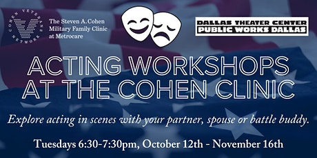 Acting Workshops at the Cohen Clinic tickets