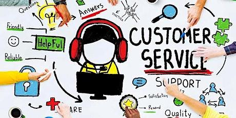 Customer Service Training online workshop tickets
