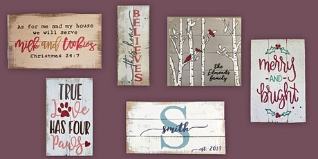 Sign Painting at Springfield Manor 11/13 tickets