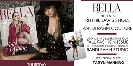 BELLA Magazine's Fashion Issue Cover Party featuring Taryn Manning tickets