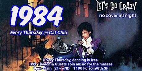 1984 @ Cat Club every Thursday tickets