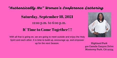 """""""Authentically Me""""  Women's Conference Gathering tickets"""