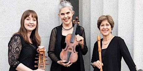 Musica Pacifica Baroque Ensemble: In Person OR Livestream tickets