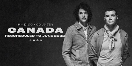 26/09 Calgary - for KING & COUNTRY burn the ships   World Tour tickets