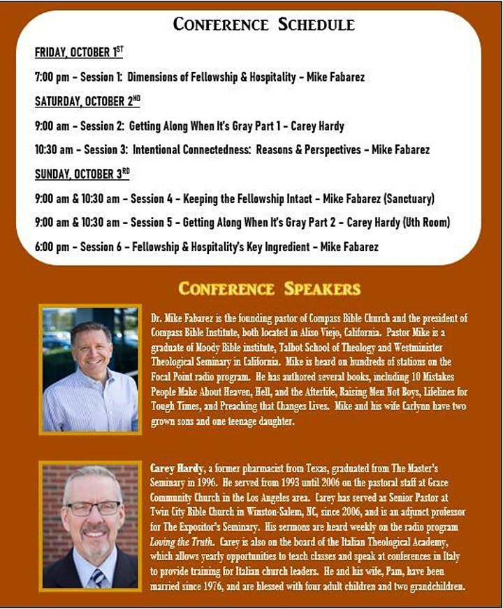 The Essentials Conference 2021 - Devoted to Fellowship image