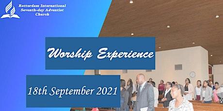 Rotterdam International SDA Church service 18-09- 2021 tickets