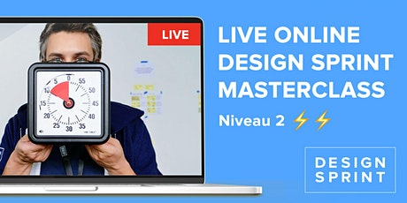 Niv 2. Design Sprint  Masterclass certifiante 2 j. - Google Design Sprint tickets