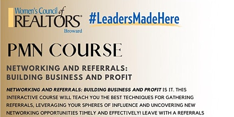 Get PMN Certified! : Networking and Referrals- Building Business and Profit tickets