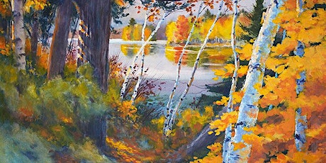 Painting the Autumn Landscape in Watercolor with Paul Oman tickets