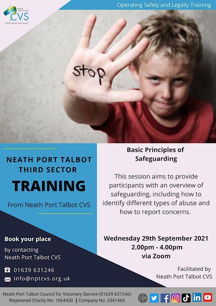 NPTCVS Training - Basic Principles of Safeguarding image