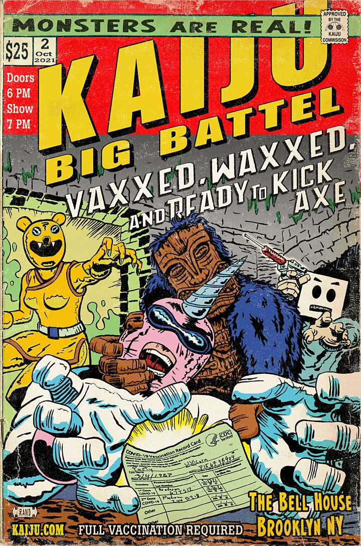 Kaiju Big Battel image