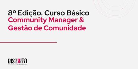Curso Básico de Community Manager e Gestão de Comunidade ingressos
