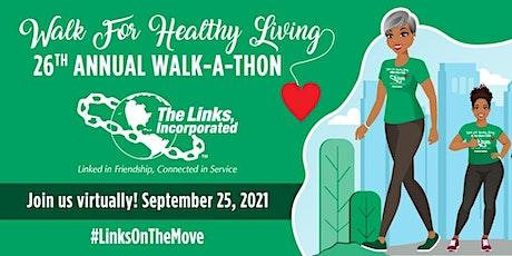 2021 Links Incorporated, Inc. Atlanta Area 26th Annual Walk-a-Thon tickets